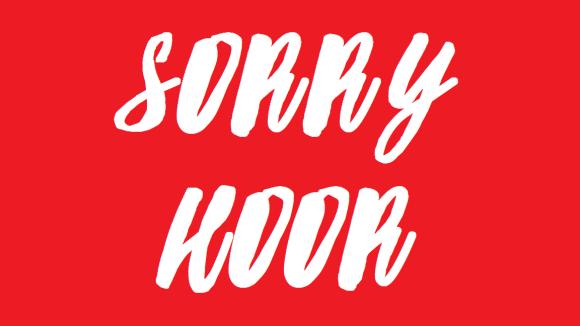 sorry-hoor